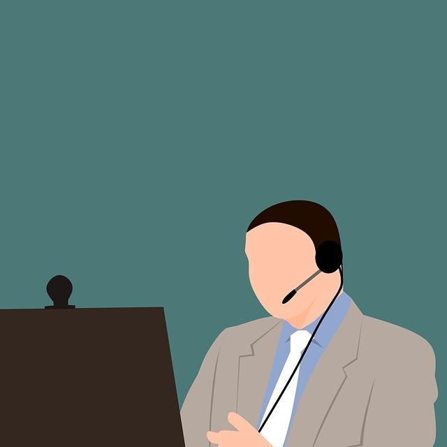 muž se sluchátky