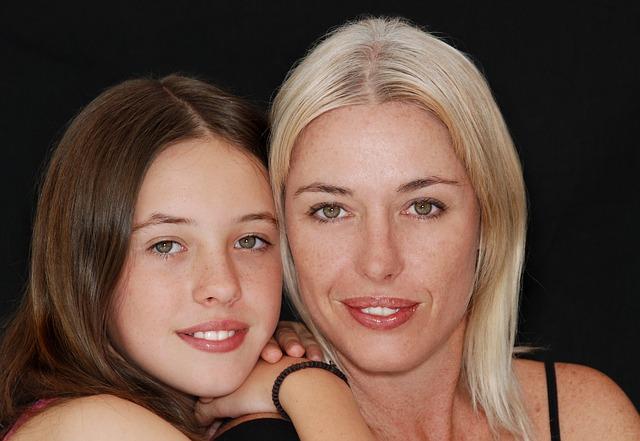 máma s dcerou